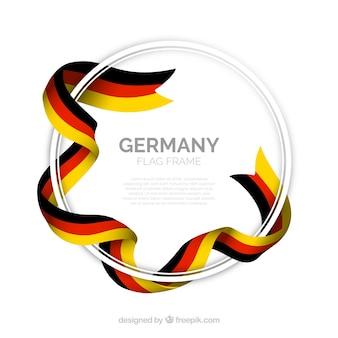 Runder deutschland rahmen
