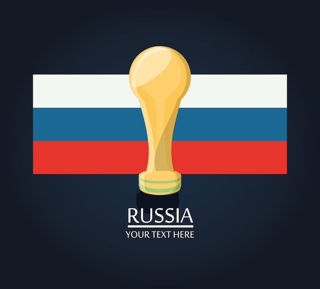 Russland fußball wm design