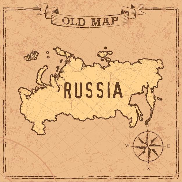 Russland karte