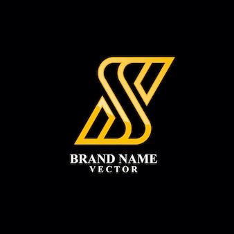S-buchstaben-monogramm-logo