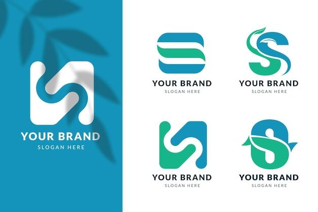 S logo-vorlagen-sammlung