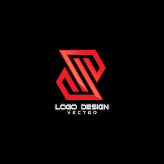 S-symbol-logo-schablonen-ikonen-vektor