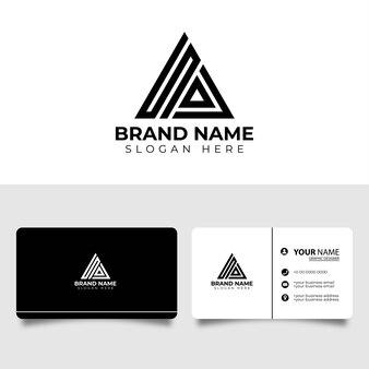 Sa anfangsbuchstaben symbol logo mit visitenkarte design-vorlage