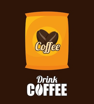 Sack kaffeebohne