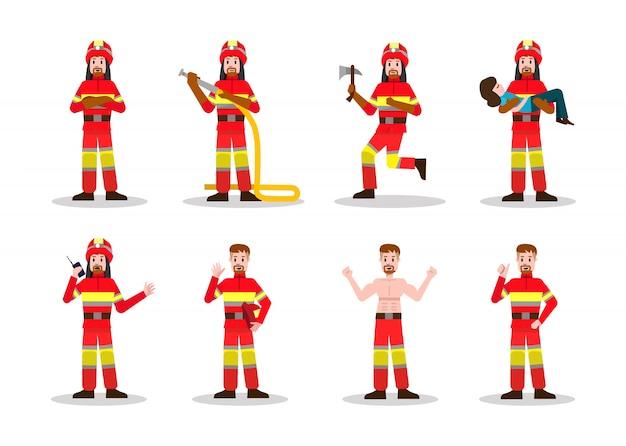 Sätze der brandbekämpfung