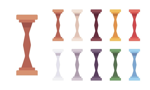 Säulenbaluster-set