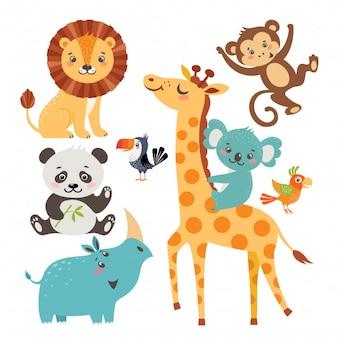 Safari Niedliches Tier
