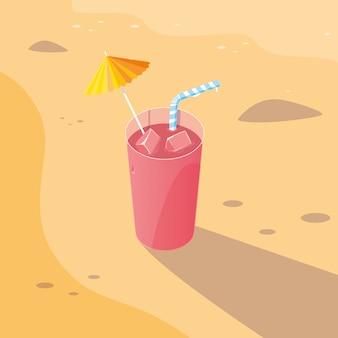 Saft am strand