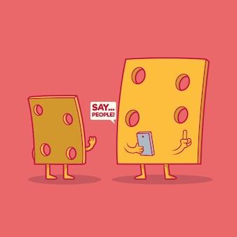 Sag cheese . technologie, fotografie, design teilen