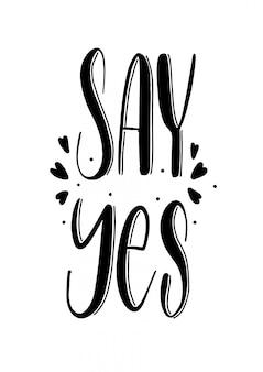 Sag ja