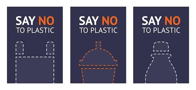Sag nein zu plastik
