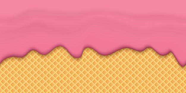 Sahnige flüssigkeit des joghurts tropft, sahneschmelze-milchspritzen