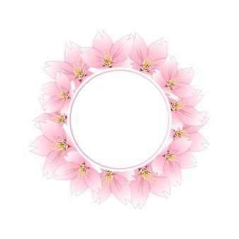 Sakura cherry blossom banner kranz