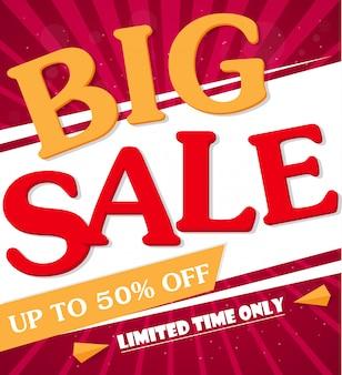 Sale banner und best offer design