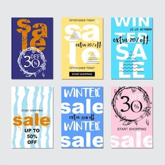Sale-karten-sammlung