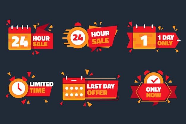 Sales countdown banner sammlung