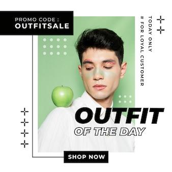 Sales instagram beitragsvorlage