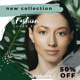 Sales instagram post mit bild
