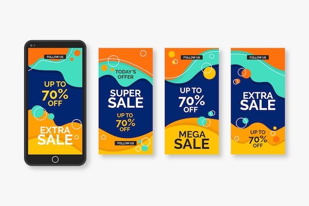 Sales instagram stories pack