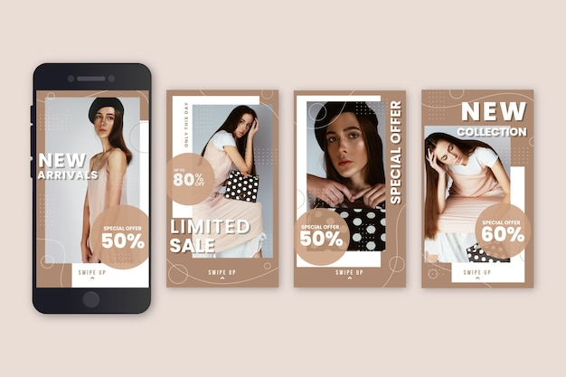 Sales instagram stories pack