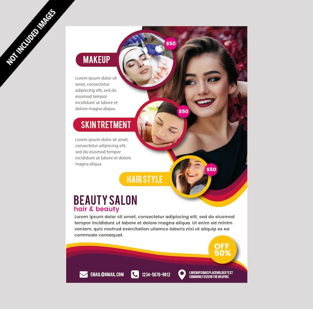 Salon-broschüre