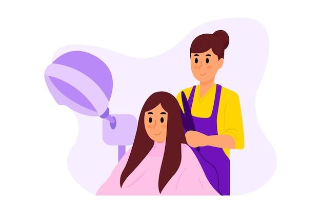 Salon-illustration