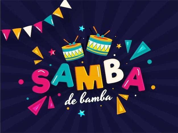 Samba de bamba hintergrund.