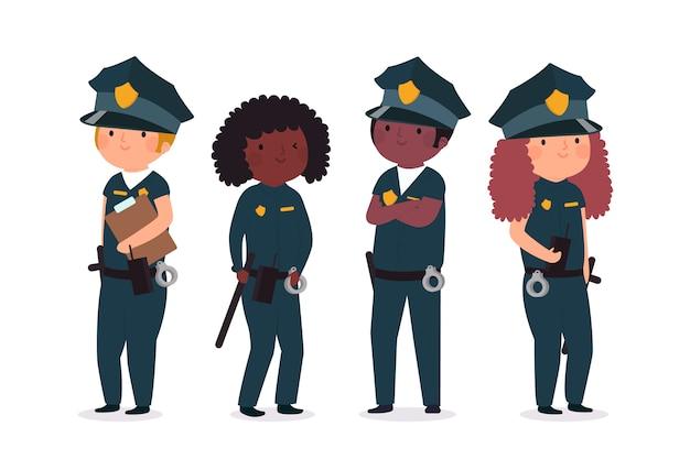 Sammlung der polizei