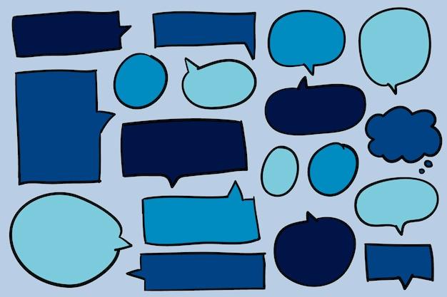 Sammlung des spracheblasenvektors