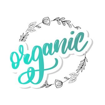 Sammlung grüne gesunde organische natürliche eco-bionahrungsmittel