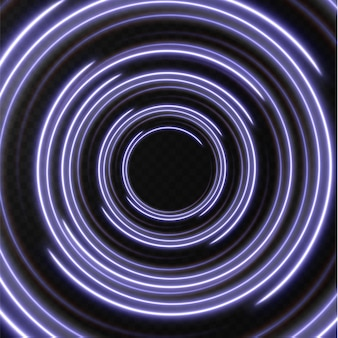 Sammlung hellblauer halbtonlinien radial blaue vektorlinien der geschwindigkeitsvektorillustration