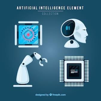 Sammlung künstlicher intelligenzelemente