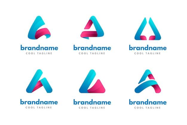 Sammlung verschiedener logos