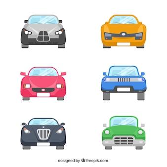Sammlung von autos