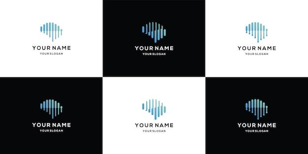 Sammlung von brain-logo-vorlagen