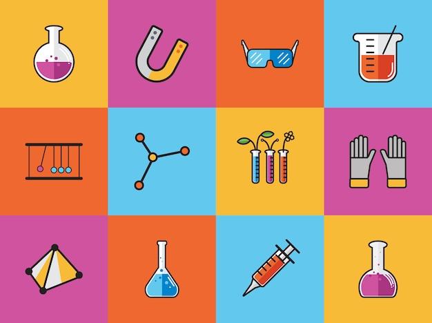 Sammlung von chemischen vektoren