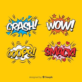 Sammlung von comic-sound-effekte