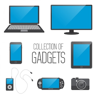 Sammlung von gadgets