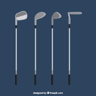 Sammlung von golfschlägern
