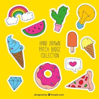 Sammlung von großen patches
