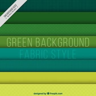 Sammlung von grünen stoff hintergrund