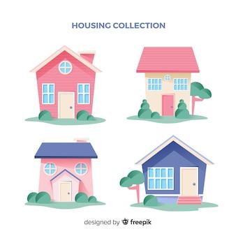Sammlung von häusern