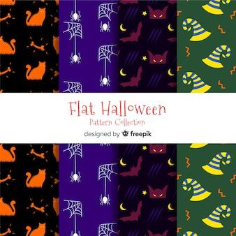 Sammlung von halloween-mustern