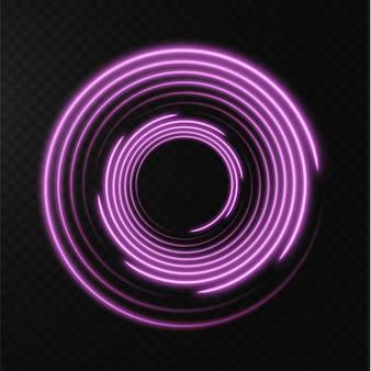 Sammlung von hellrosa halbtonlinien radial rosa vektorlinien der geschwindigkeitsvektorillustration