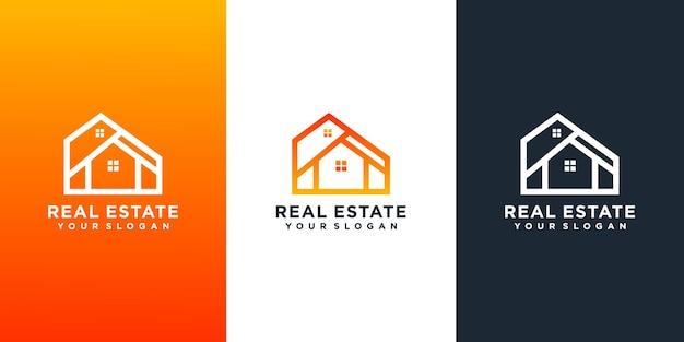 Sammlung von immobilienlogos