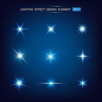 Sammlung von lichteffekten