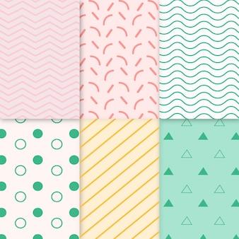 Sammlung von minimalen geometrischen mustern