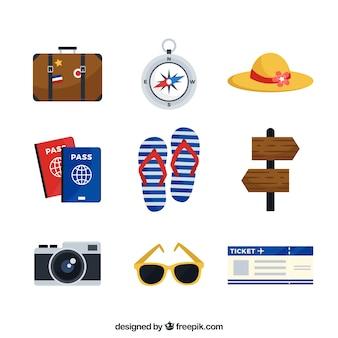 Sammlung von reisenden ergänzt