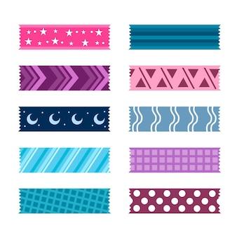 Sammlung von schönen washi bändern