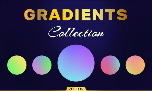 Sammlung von vektorverläufen
